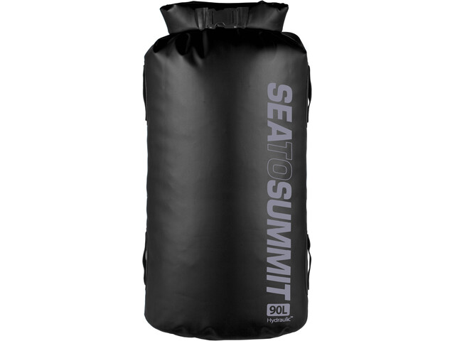Sea to Summit Hydraulic Bolsa seca con Arnés 90l, black